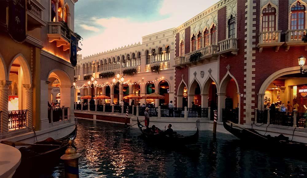 Las Vegas Venetian Gondolas